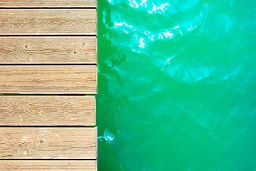 Badesee im Sommer von Günter Albers