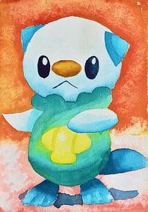 Oshawott Pokemon van Jessica van Schijndel