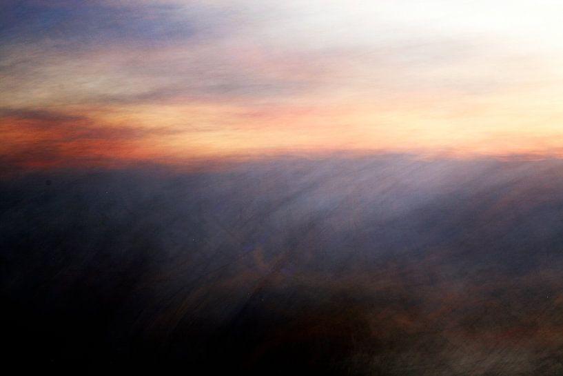 Zonsondergang van Marijke van Loon