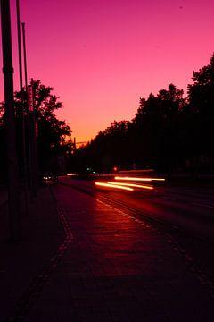 Auto bij nacht