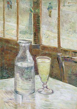 Vincent van Gogh. Cafétafel met absint, 1887