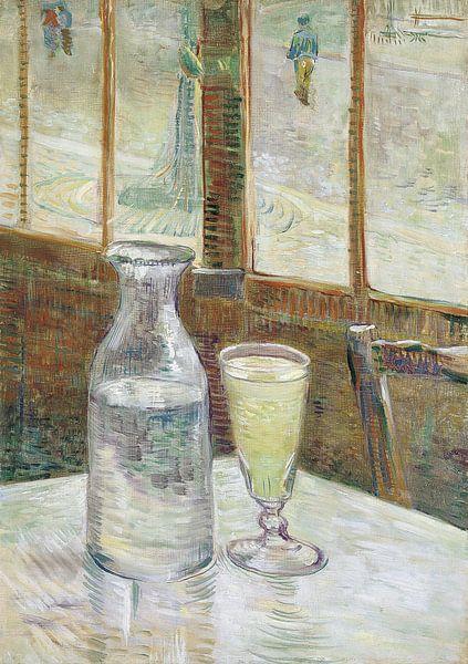 Vincent van Gogh. Cafétafel met absint, 1887 van 1000 Schilderijen