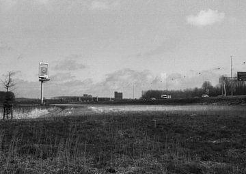 Een snelweg ergens in nederland  sur Melvin Meijer