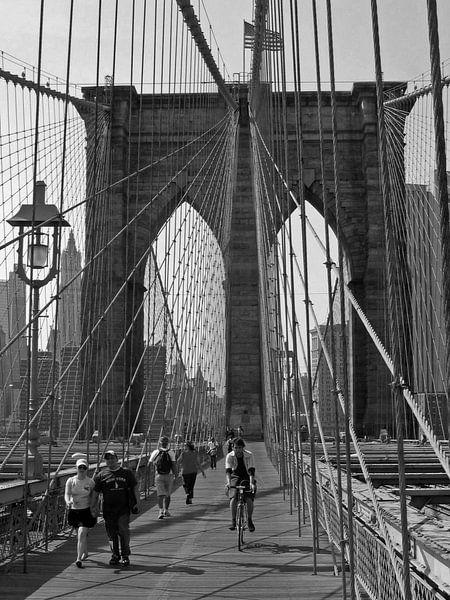 Brooklyn bridge van Gert-Jan Siesling