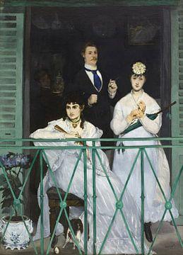 Het balkon, Édouard Manet van