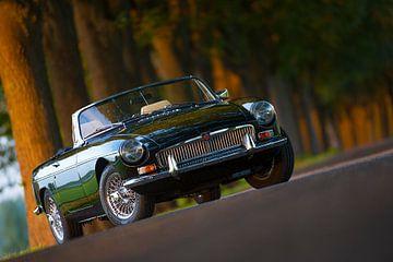Klassieke MG-B van Kneeke .com