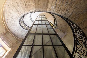 escalier en colimaçon sur Kristof Ven