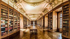 Benedictijner bibliotheek in Saint-Mihiel van Herman Coumans