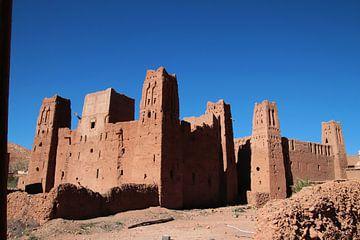 Oude vesting in Marokko van jan katuin