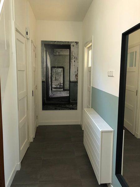 Klantfoto: Urbex deuren in een verlaten villa van Steven Dijkshoorn