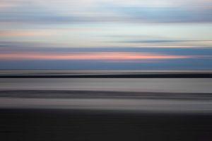 Abstracte Noordzee