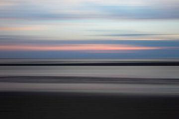 Abstracte Noordzee van Elroy Spelbos