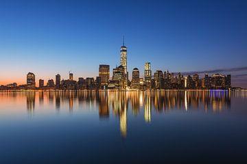 New York Skyline von Robin Oelschlegel