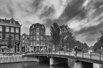Prinsengracht – Nieuwe Spiegelstraat – Amsterdam van Tony Buijse