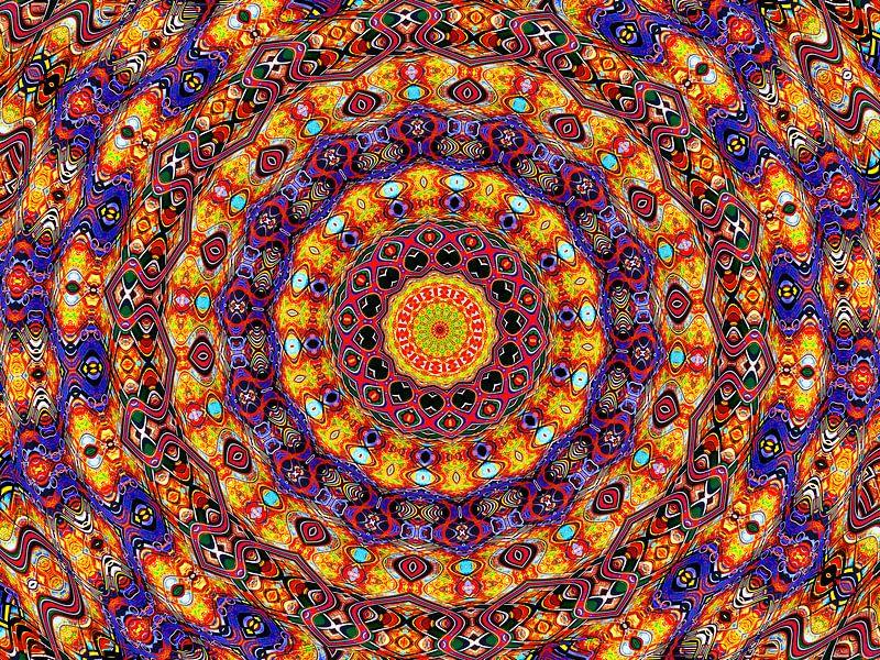 Exclusive Elegancy (Exclusieve Mandala of Rozet) van Caroline Lichthart