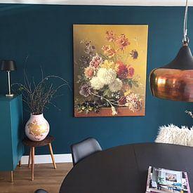 Kundenfoto: Stillleben mit Blumen in einem Vase von Hollandse Meesters