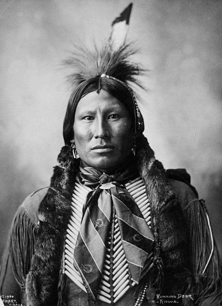 Native American (Indiaan) van Brian Morgan