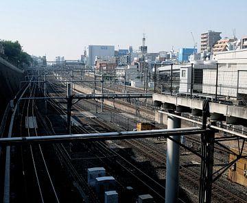 'Rails', Kyoto- Japan van Martine Joanne
