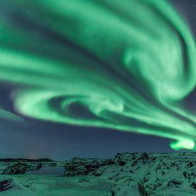 Northern lights von Frits Hendriks