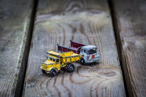 Nostalgische speelgoedauto's