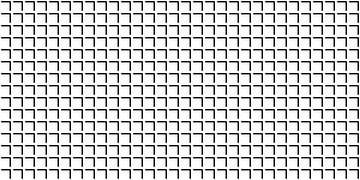 Permutatie | ID=10 | V=30-25 | 2:1 | 30x15 van Gerhard Haberern