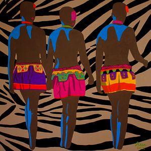 Zoeloe zusjes zebraprint