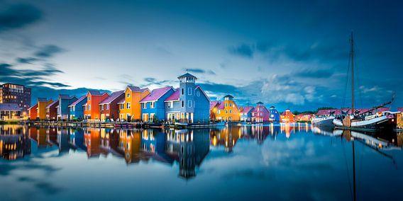 Kleurrijke Huizen van Maarten Mensink