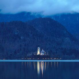Kirche in den Wolken von Sander Knopper