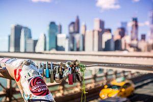 New York Skyline, Manhattan, Brooklyn Bridge