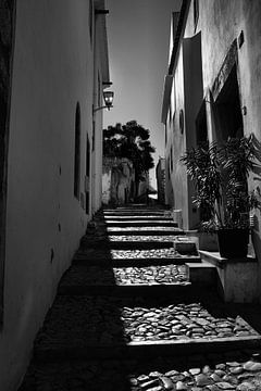 Treppe Portugal von Kees de Knegt