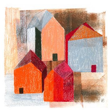 4 Häuser von Corine Teuben