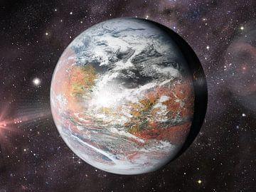 Mars, der bunte Planet von Frans Blok