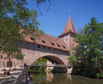 Hallertor, Nürnberg, Bayern, Deutschland