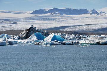IJsbergenmeer, Jökulsárlón, Glacier Lagoon van Yvonne Balvers
