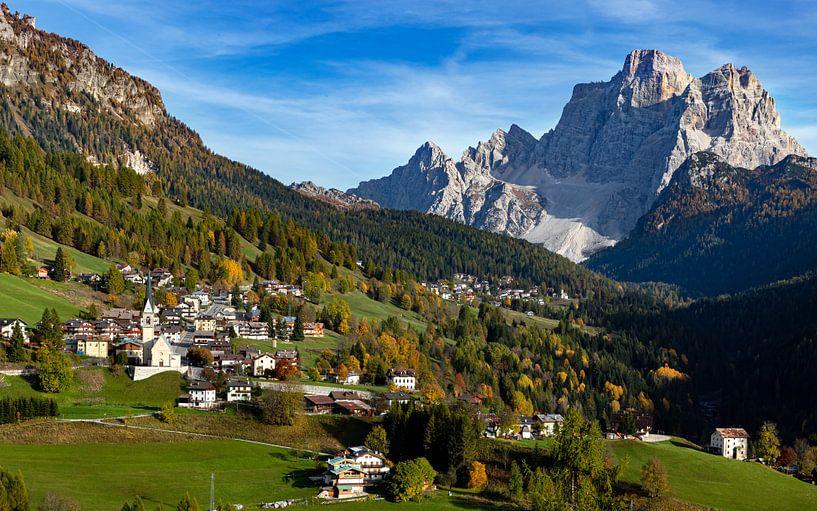 Dolomieten Landschap -5, Italië van Adelheid Smitt