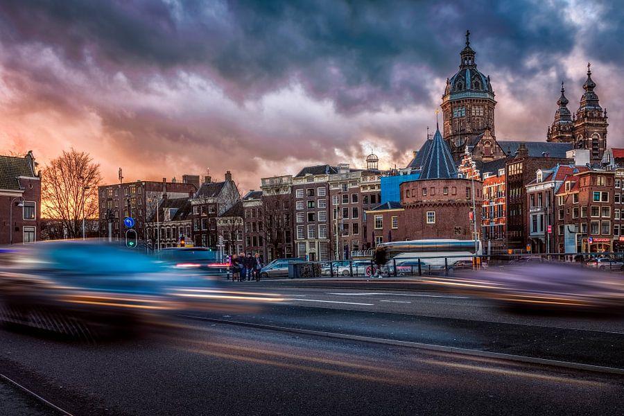 Amsterdam in beweging van Dennisart Fotografie