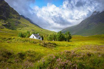 Berg huisje in Glencoe van