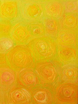 Rosen-Palette 1 von Karin Hemme