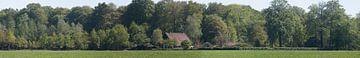 Panorama auf einem Landgut von Gerard de Zwaan