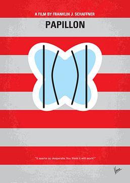 No098 My Papillon minimal movie poster van Chungkong Art