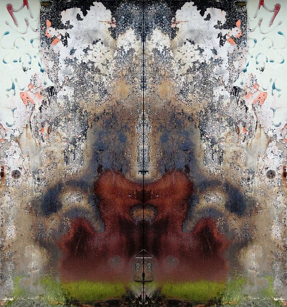 Urban Abstract 198 Doubled! van MoArt (Maurice Heuts)