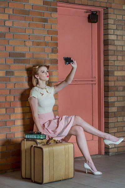 An Old Self Portrait, Kirsten Woodforth van 1x
