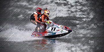 Jet Ski duo 11 van JiPé digital artwork
