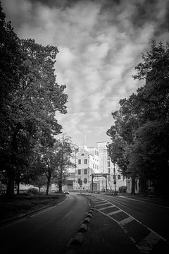 Sappi Maastricht BV vanaf de Maasboulevard