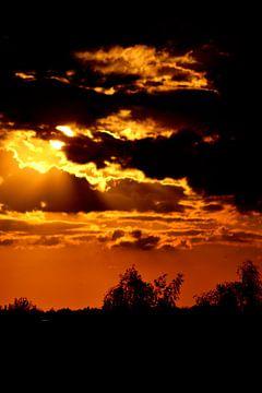 Zonsondergang von Arno-Jan Boere