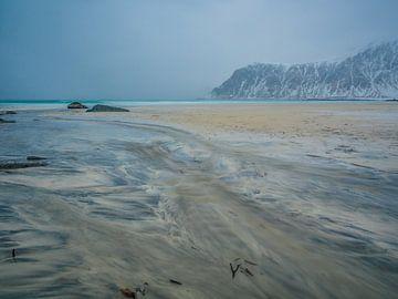 Skagsanden strand van Henk Goossens