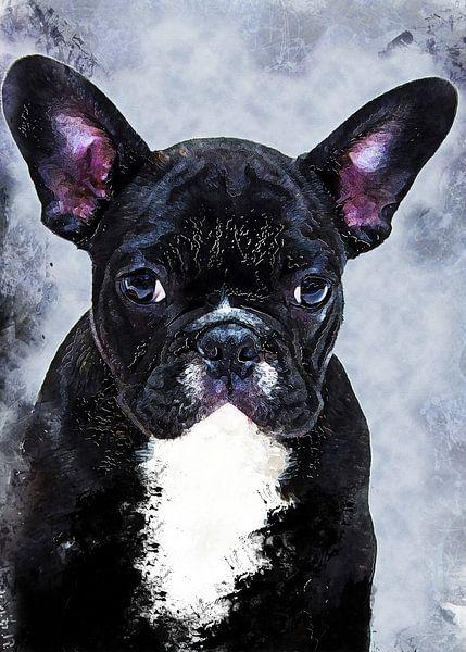 Hund 13 Tiere Kunst #Hund #Hunde von JBJart Justyna Jaszke