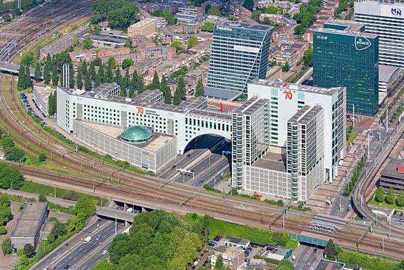 Luchtfoto Haagse Poort te Den Haag