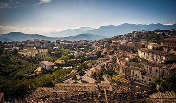 Ansicht von Altomonte, Italien von Manja Herrebrugh - Outdoor by Manja