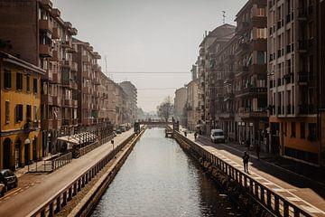 Fluss Mailand von Yara Verstappen